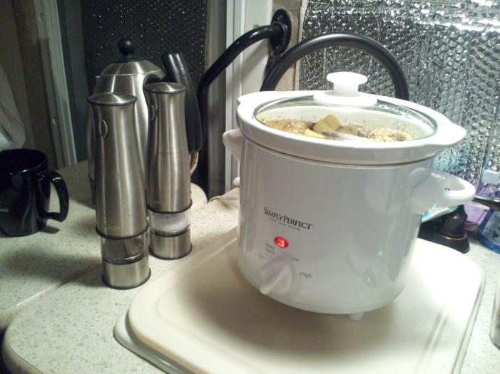 11.22.2012 Crockpot setup