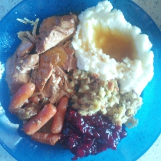 11.22.2012 Turkey plate