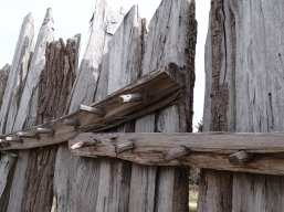 Fence woodwork