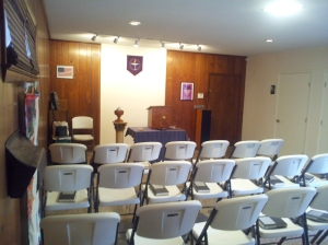Meeting room at the UUC of Fayetteville