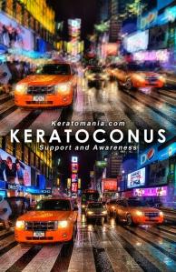 Keratoconus Vision Simulation via Keratomania.com