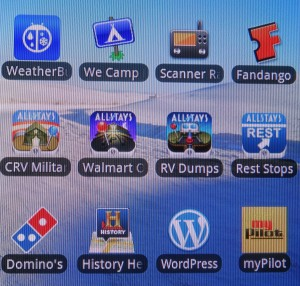 My favorite RV travel apps in 2013