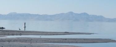 The Great Salt Lake, Salt Lake City, Utah