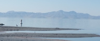 The Great Salt Lake, Salt Lake City, Utah